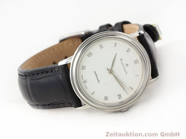 Used luxury watch Blancpain Villeret steel automatic Kal. 95  | 141099 03