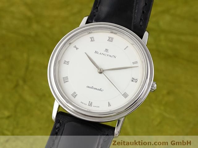 Used luxury watch Blancpain Villeret steel automatic Kal. 95  | 141099 04