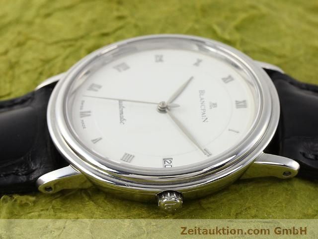 Used luxury watch Blancpain Villeret steel automatic Kal. 95  | 141099 05