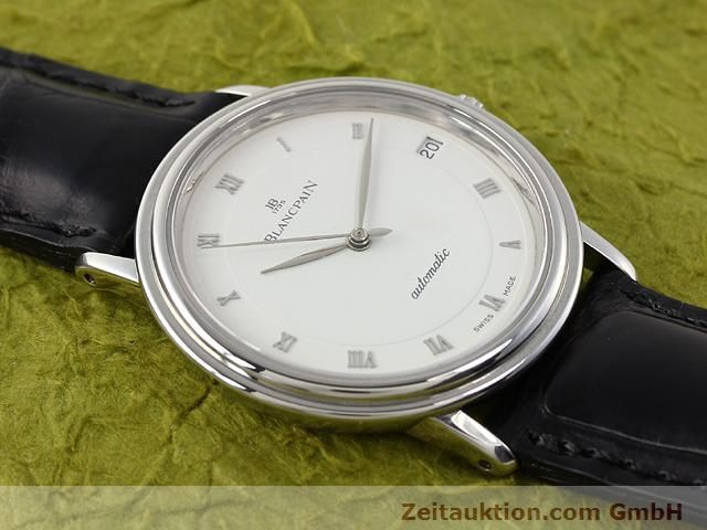 Used luxury watch Blancpain Villeret steel automatic Kal. 95  | 141099 12