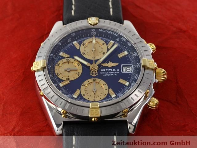 Used luxury watch Breitling Chronomat gilt steel automatic Kal. B13 ETA 7750 Ref. B13352  | 141102 02