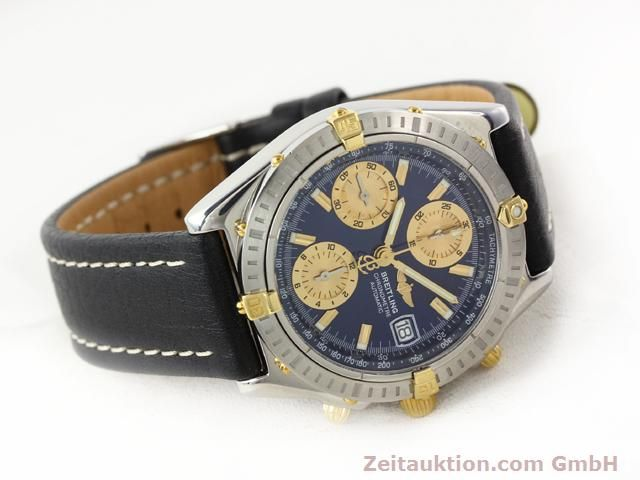 Used luxury watch Breitling Chronomat gilt steel automatic Kal. B13 ETA 7750 Ref. B13352  | 141102 03