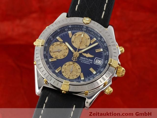Used luxury watch Breitling Chronomat gilt steel automatic Kal. B13 ETA 7750 Ref. B13352  | 141102 04