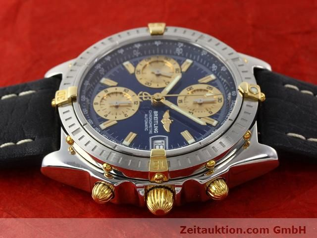 Used luxury watch Breitling Chronomat gilt steel automatic Kal. B13 ETA 7750 Ref. B13352  | 141102 05