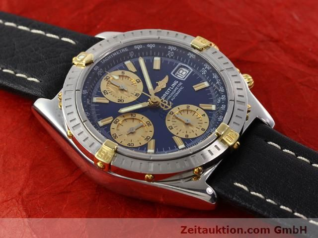 Used luxury watch Breitling Chronomat gilt steel automatic Kal. B13 ETA 7750 Ref. B13352  | 141102 13