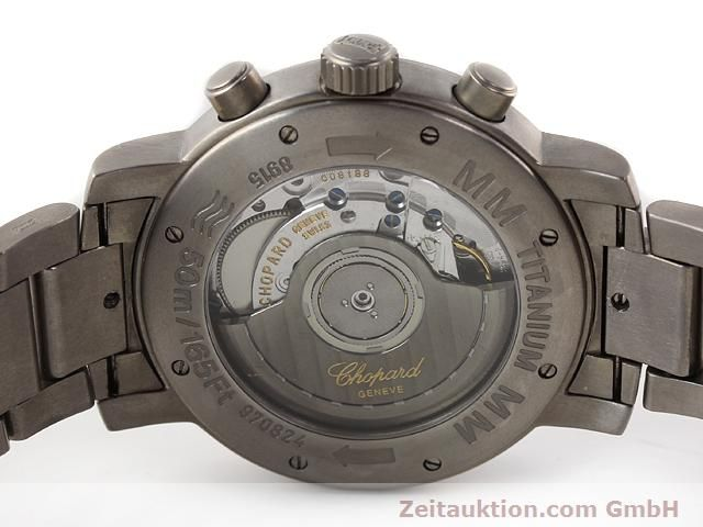 Used luxury watch Chopard Mille Miglia titanium automatic Kal. ETA 2894-2 Ref. 8915  | 141104 09