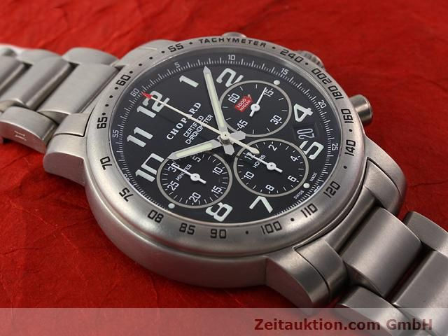 Used luxury watch Chopard Mille Miglia titanium automatic Kal. ETA 2894-2 Ref. 8915  | 141104 12