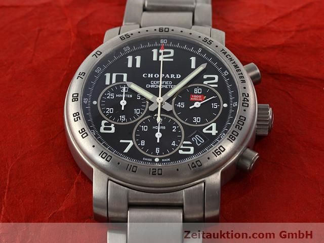 Used luxury watch Chopard Mille Miglia titanium automatic Kal. ETA 2894-2 Ref. 8915  | 141104 13