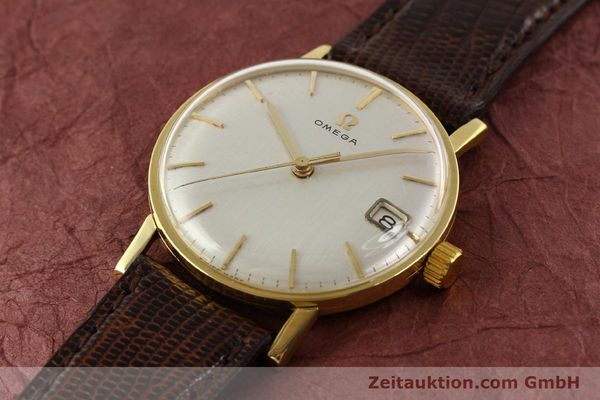 Used luxury watch Omega * 18 ct gold manual winding Kal. 610 Ref. 14731  | 141106 01