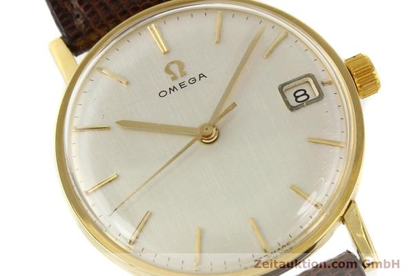 Used luxury watch Omega * 18 ct gold manual winding Kal. 610 Ref. 14731  | 141106 02