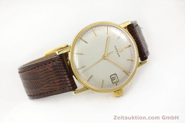 Used luxury watch Omega * 18 ct gold manual winding Kal. 610 Ref. 14731  | 141106 03