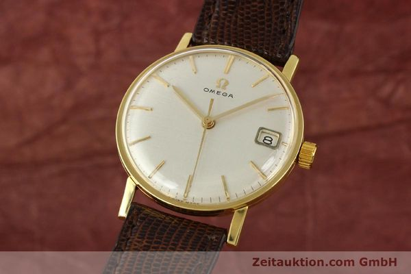 Used luxury watch Omega * 18 ct gold manual winding Kal. 610 Ref. 14731  | 141106 04
