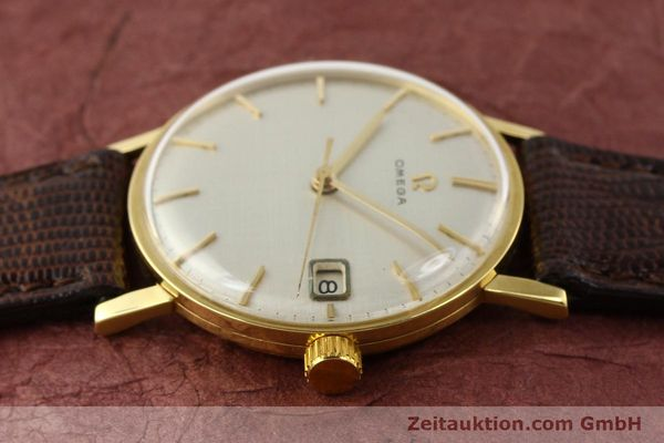 Used luxury watch Omega * 18 ct gold manual winding Kal. 610 Ref. 14731  | 141106 05