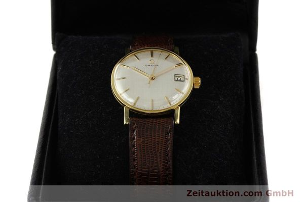 Used luxury watch Omega * 18 ct gold manual winding Kal. 610 Ref. 14731  | 141106 07