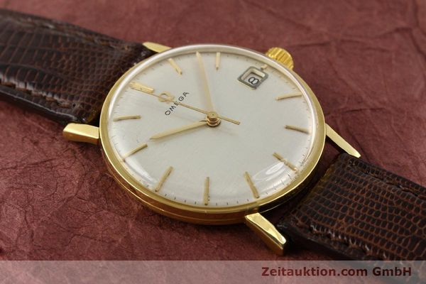 Used luxury watch Omega * 18 ct gold manual winding Kal. 610 Ref. 14731  | 141106 13