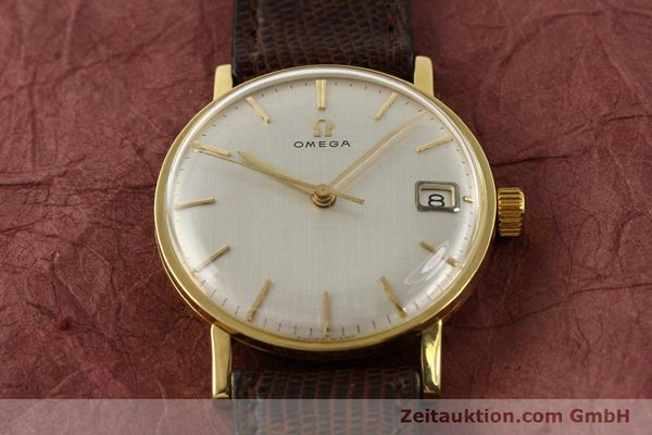 Used luxury watch Omega * 18 ct gold manual winding Kal. 610 Ref. 14731  | 141106 14