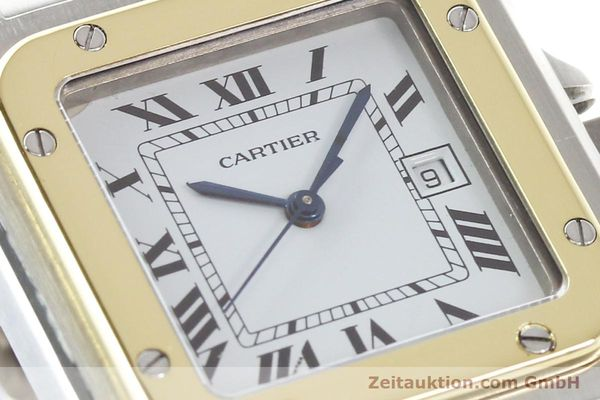 Used luxury watch Cartier Santos steel / gold automatic  | 141108 02
