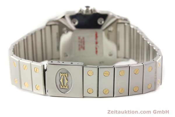 Used luxury watch Cartier Santos steel / gold automatic  | 141108 09