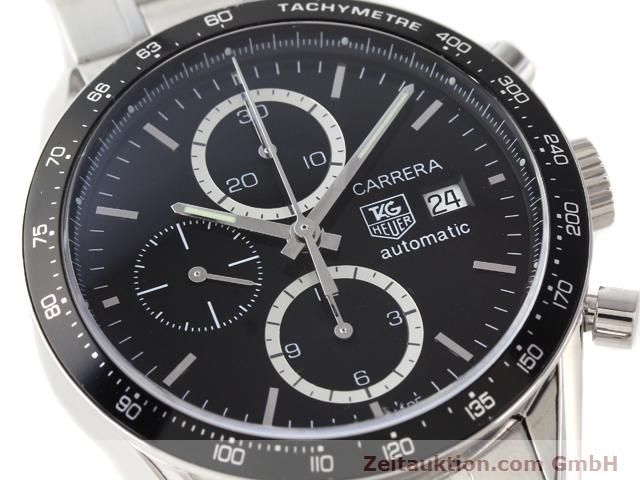 Used luxury watch Tag Heuer Carrera steel automatic Kal. 16 Ref. CV2010-3  | 141110 02