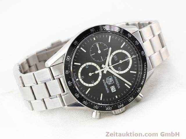 Used luxury watch Tag Heuer Carrera steel automatic Kal. 16 Ref. CV2010-3  | 141110 03