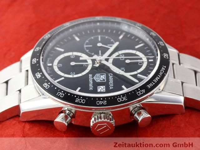 Used luxury watch Tag Heuer Carrera steel automatic Kal. 16 Ref. CV2010-3  | 141110 05