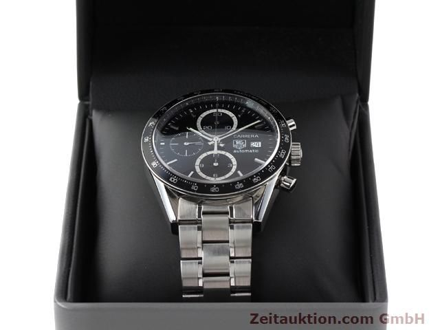 Used luxury watch Tag Heuer Carrera steel automatic Kal. 16 Ref. CV2010-3  | 141110 07