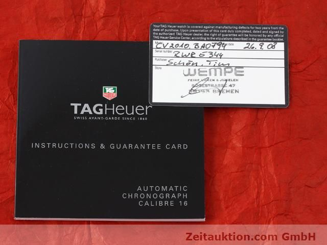 Used luxury watch Tag Heuer Carrera steel automatic Kal. 16 Ref. CV2010-3  | 141110 08