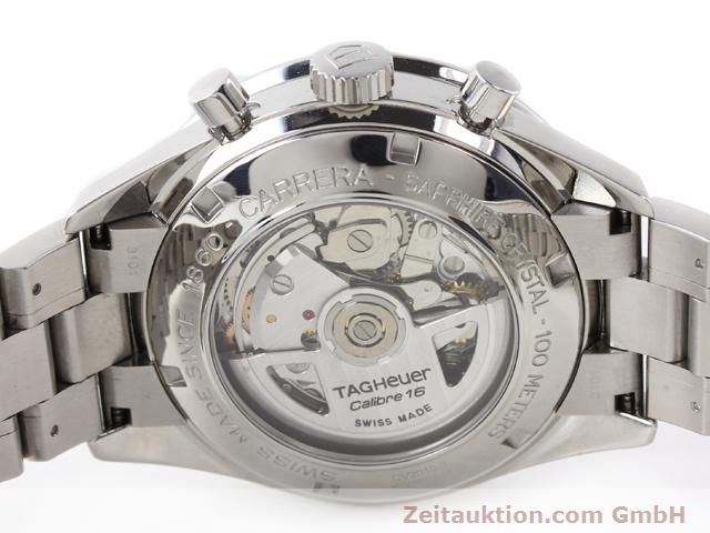 Used luxury watch Tag Heuer Carrera steel automatic Kal. 16 Ref. CV2010-3  | 141110 09