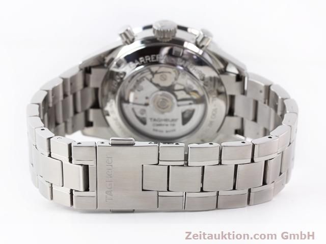 Used luxury watch Tag Heuer Carrera steel automatic Kal. 16 Ref. CV2010-3  | 141110 12