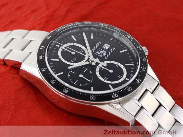 Used luxury watch Tag Heuer Carrera steel automatic Kal. 16 Ref. CV2010-3  | 141110 14