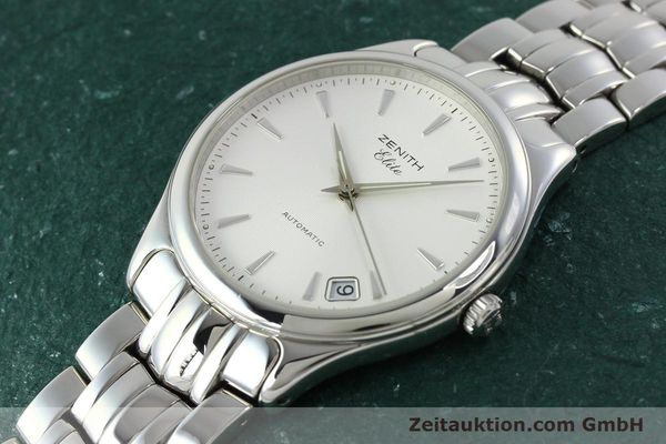 Used luxury watch Zenith Elite steel automatic Kal. 670 Ref. 02.0040.670  | 141111 01