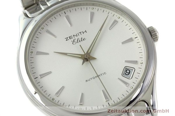 Used luxury watch Zenith Elite steel automatic Kal. 670 Ref. 02.0040.670  | 141111 02
