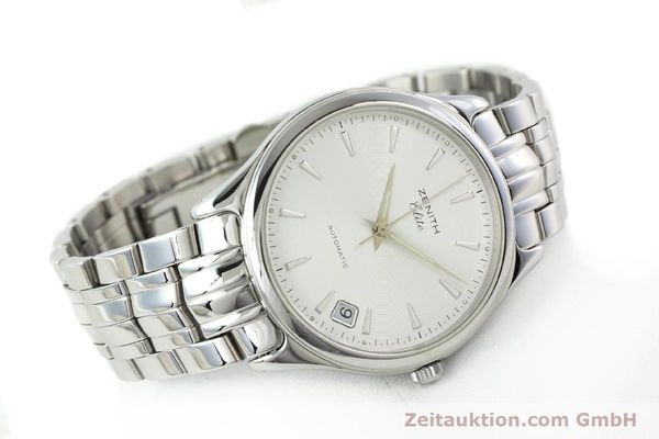 Used luxury watch Zenith Elite steel automatic Kal. 670 Ref. 02.0040.670  | 141111 03