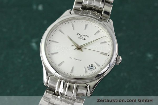 Used luxury watch Zenith Elite steel automatic Kal. 670 Ref. 02.0040.670  | 141111 04