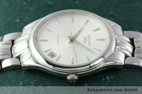 Used luxury watch Zenith Elite steel automatic Kal. 670 Ref. 02.0040.670  | 141111 05