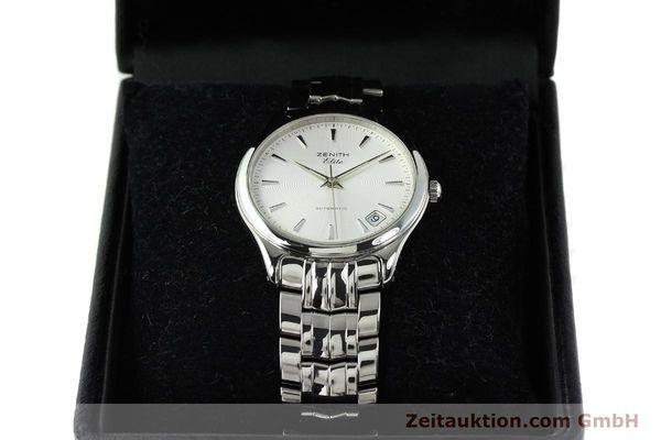 Used luxury watch Zenith Elite steel automatic Kal. 670 Ref. 02.0040.670  | 141111 07