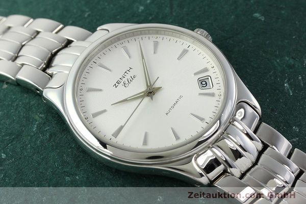 Used luxury watch Zenith Elite steel automatic Kal. 670 Ref. 02.0040.670  | 141111 14