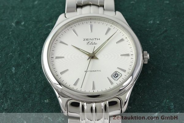 Used luxury watch Zenith Elite steel automatic Kal. 670 Ref. 02.0040.670  | 141111 15