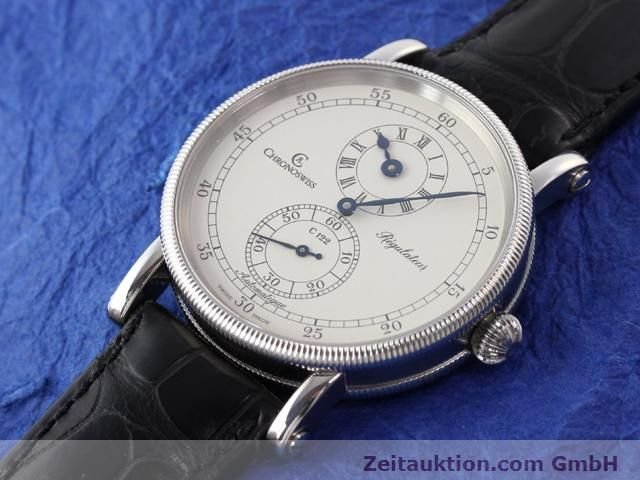 Used luxury watch Chronoswiss Regulateur steel automatic Kal. C122 Ref. CH1223  | 141113 01