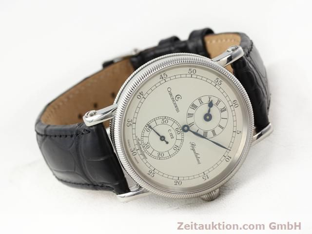 Used luxury watch Chronoswiss Regulateur steel automatic Kal. C122 Ref. CH1223  | 141113 03