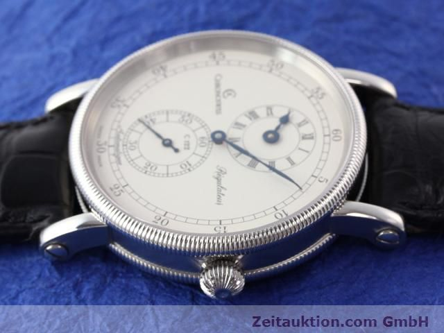 Used luxury watch Chronoswiss Regulateur steel automatic Kal. C122 Ref. CH1223  | 141113 05