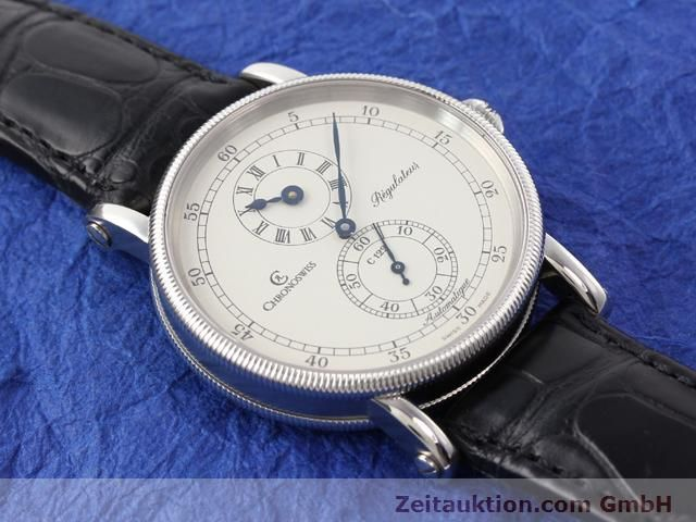 Used luxury watch Chronoswiss Regulateur steel automatic Kal. C122 Ref. CH1223  | 141113 12