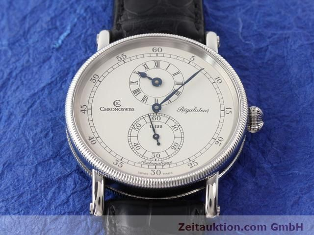 Used luxury watch Chronoswiss Regulateur steel automatic Kal. C122 Ref. CH1223  | 141113 13