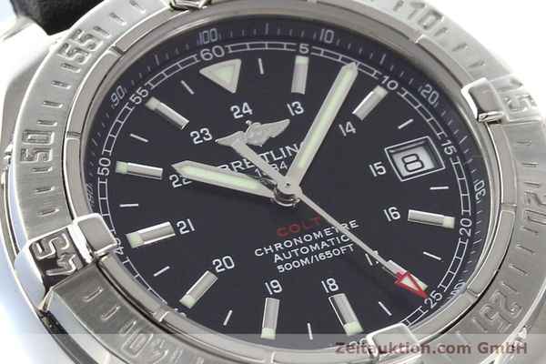Used luxury watch Breitling Colt steel automatic Ref. A17380  | 141116 02