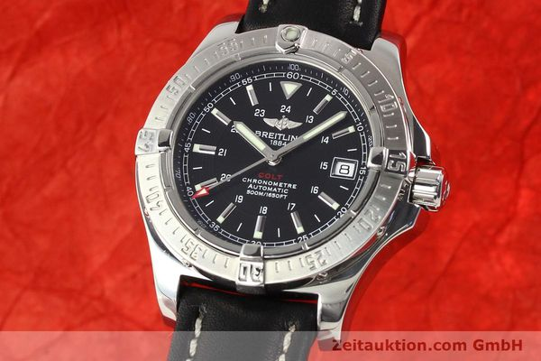 Used luxury watch Breitling Colt steel automatic Ref. A17380  | 141116 04