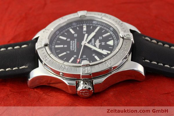 Used luxury watch Breitling Colt steel automatic Ref. A17380  | 141116 05