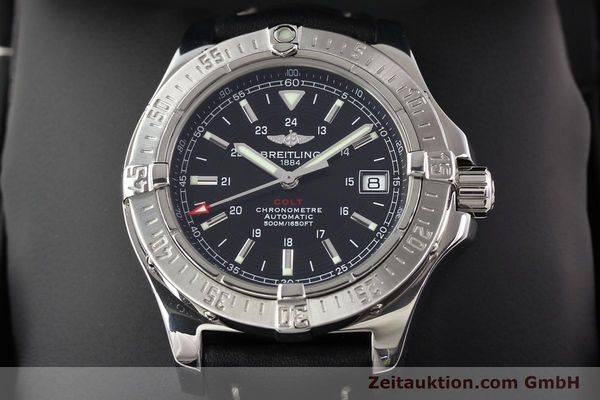 Used luxury watch Breitling Colt steel automatic Ref. A17380  | 141116 07
