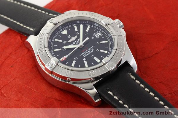 Used luxury watch Breitling Colt steel automatic Ref. A17380  | 141116 13