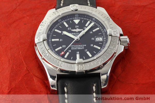 Used luxury watch Breitling Colt steel automatic Ref. A17380  | 141116 14
