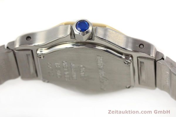 Used luxury watch Cartier Santos steel / gold quartz  | 141119 08